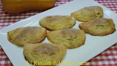 Empanadas dulces rellenas de dulce de calabaza Receta fácil y rápida