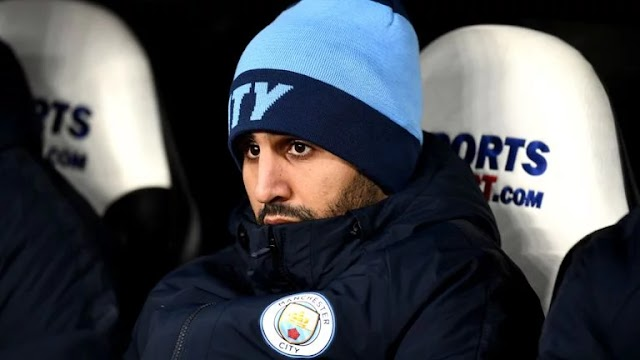 Guardiola reveals why Mahrez is not playing at Manchester City