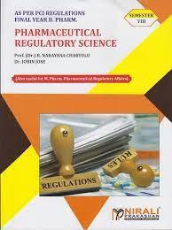 Pharmaceutical Regulatory Science MCQ - Bpharm final year