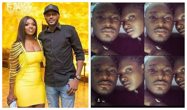 Mine, Love you till i die- Annie Idibia shares throwback photos as she celebrates her Husband 46th birthday (Photos)