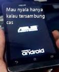 hp android hanya mau nyala jika tersambung dengan charger saja