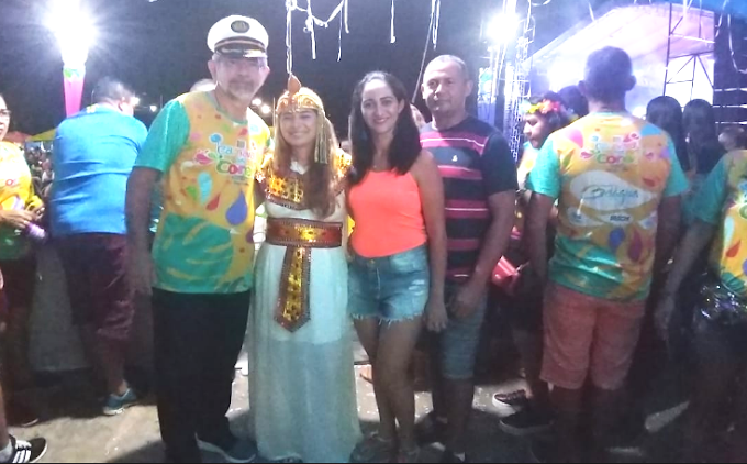 Ao som de Mara Pavanelly e Gil Mendes milhares prestigiam Carnaval das cores de Belágua.