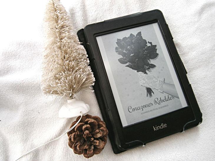 Foto del libro Corazones rebeldes de la autora Andrea Muñoz Majarrez