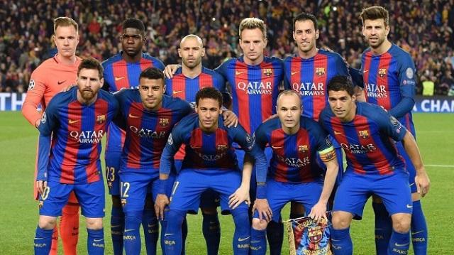 Đội bóngBarcelona danh tiếng