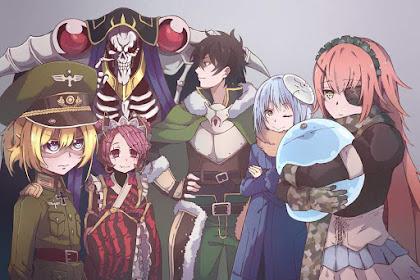 Rekomendasi Anime Petualangan di Isekai Terbaik