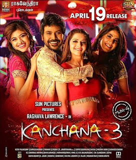 Kanchana 3 (2019) Dual Audio {Hindi+Telugu} Movie 480p 720p HD