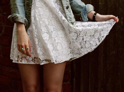 vestido de renda como usar