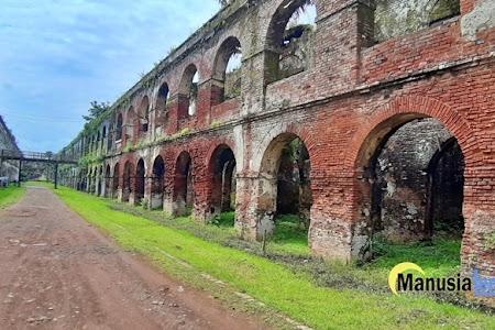 Benteng Pendem Ambarawa yang Estetis, Saksi Bisu Era Kolonial