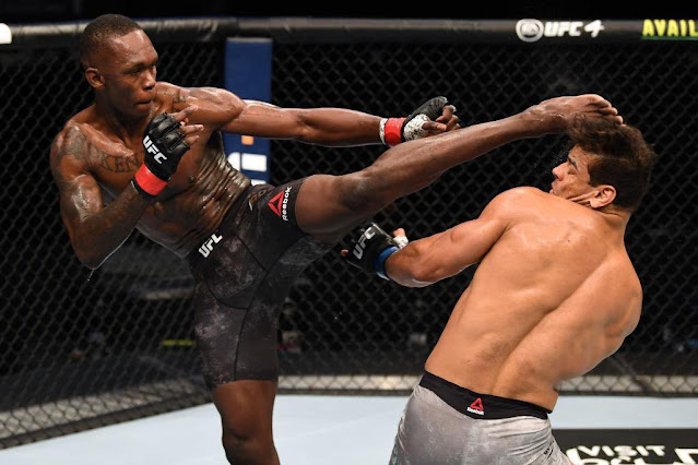 Nigerian MMA fighter, Israel Adesanya Knocks Out Paulo Costa To Retain UFC Middleweight Title