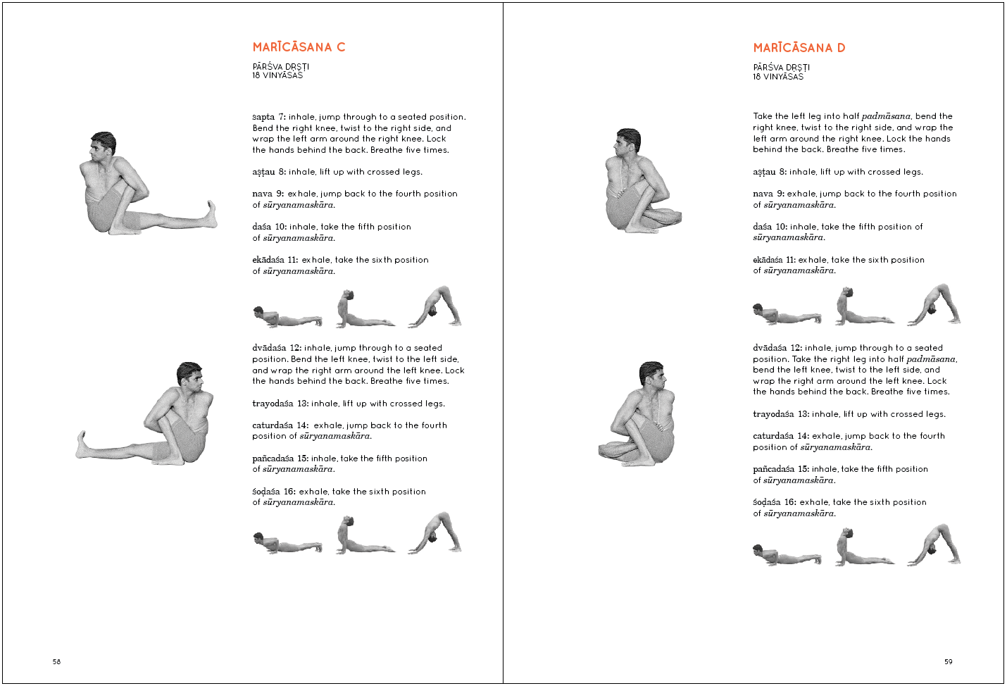 Ashtanga Vinyasa Krama Yogaat Home Booklet Review Inhalation And Exhalation Diagram Puraka Fifty Of Those Eighty Seven Pages Are Taken Up With The Primary Series Itself A Picture Sharath In Asana Count Out
