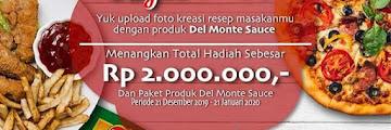 Lomba Kreasi Resep Masakan Del Monte Berhadiah Total 2 Juta Rupiah