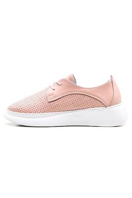 pudra rengi bayan ayakkabı