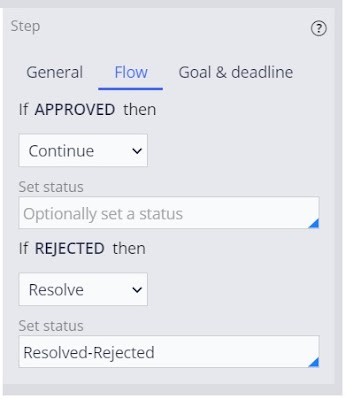 cascading approval with an authority matrix - reject scenario