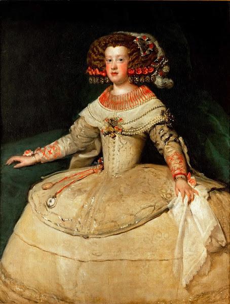 Диего Веласкес - Портрет Марии Австрийской, королевы Венгрии (1652-1653)