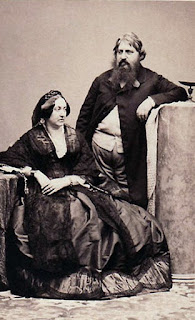 Charles Ferdinand with his wife, the Irishwoman Penelope Smyth