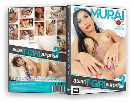 DVD Asian T-Girl Surprise 3 xxx 2019 - ISO