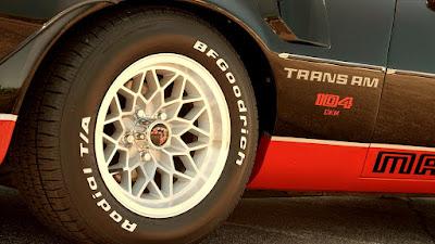 1978 Pontiac Macho Trans Am WS6 Turbo 400 Rim & Tire