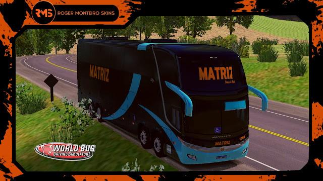 Skins World Bus Driving Simulator - Matriz Transportes
