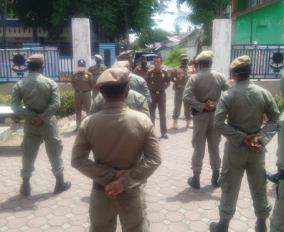 20 Personil Satpol PP Aceh di Tempatkan di Pidie