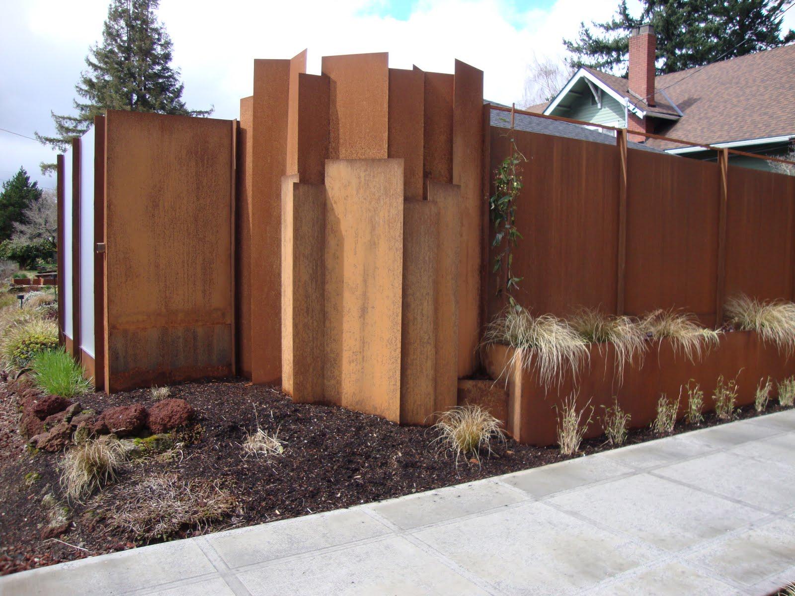danger garden another discovered cor ten landscape. Black Bedroom Furniture Sets. Home Design Ideas