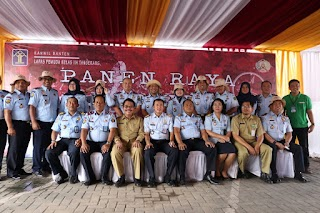 Lapas Pemuda Tangerang Gelar Serah Terima Jabatan dari Kalapas Jumadi kepada Plt. Kalapas Saverius Essau Gustav Johanes
