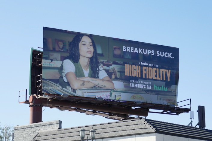 High Fidelity TV series billboard