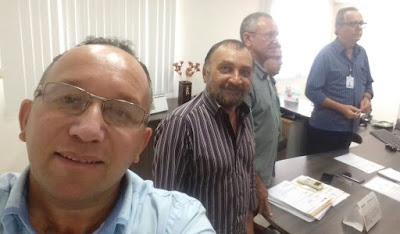 Prefeito de Baraúna e vereadores da base se reúnem com Secretários do Estado para discutir abastecimento de água