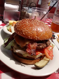 half pound burger