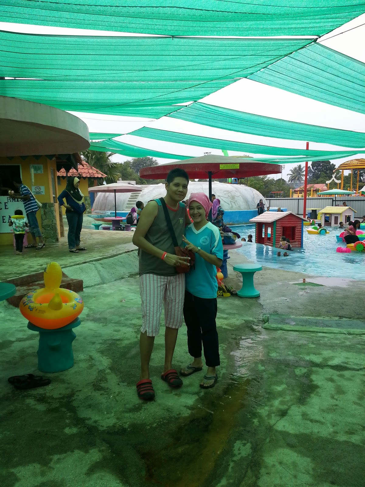 Mini Waterpark Kubang Gajah @ Temerloh Part III