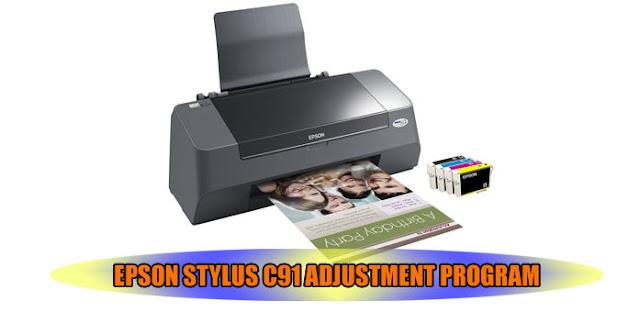 Epson Stylus C91 Printer Adjustment Program