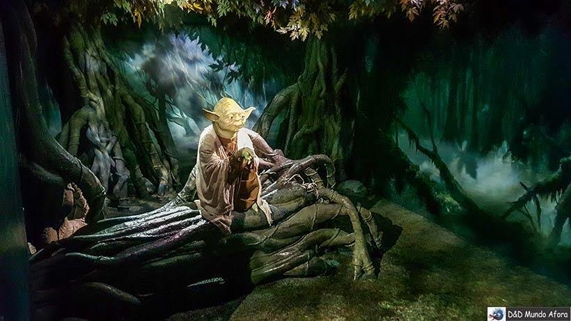 Mestre Yoda do Star Wars - Madame Tussauds: Como visitar o museu de cera de Londres