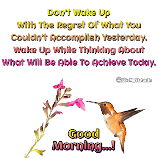 Good Morning Image With Quote