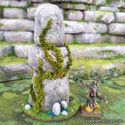 Planta trepadora en miniatura