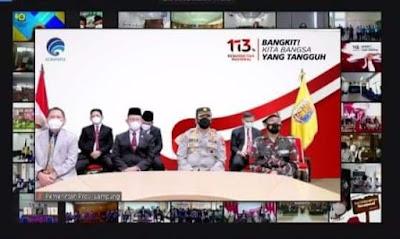 Pemprov Lampung Ikuti Upacara Peringatan Hari Kebangkitan Nasional ke-113