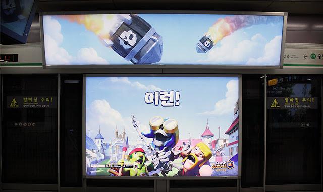 Outdoors de Clash Royale na Korea - 2