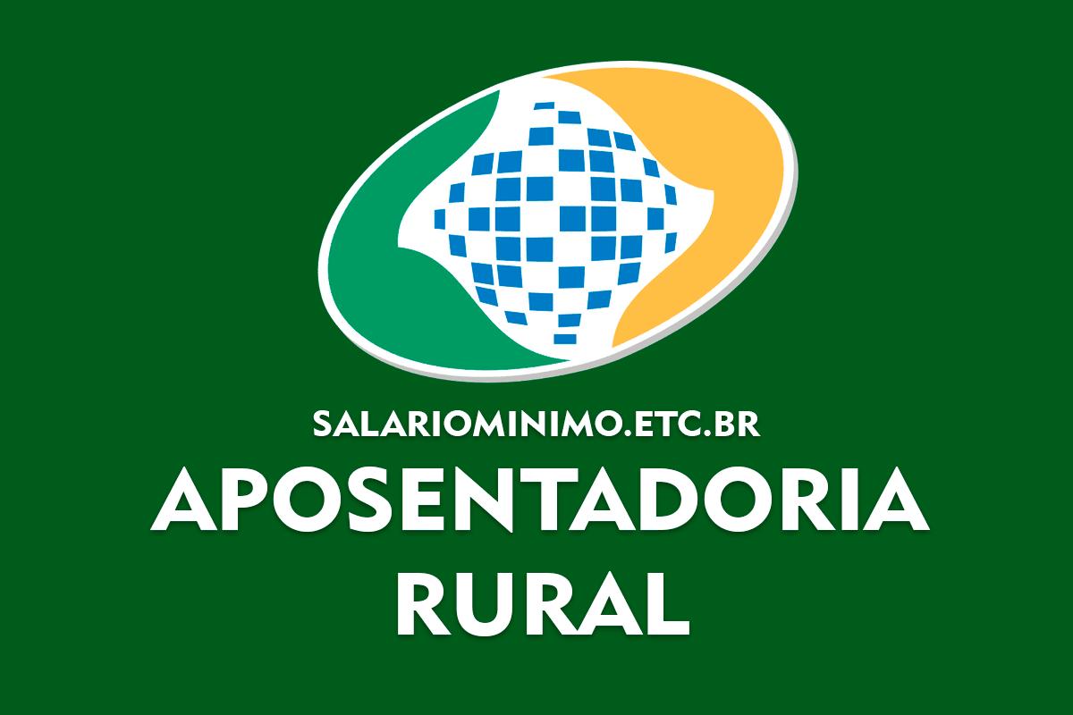 Aposentadoria Rural 2021