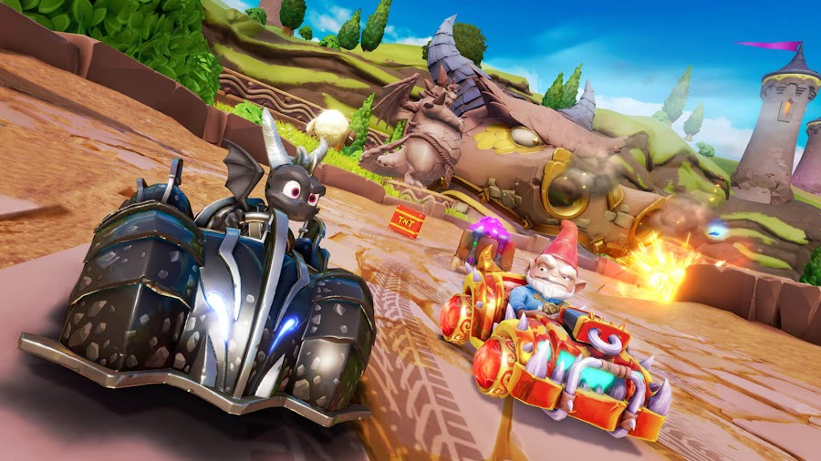 crash team racing nitro-fueled grand prix spyro n friends dark spyro gnome velo skin