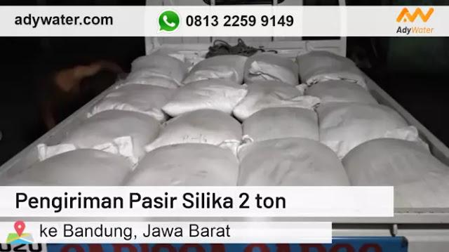 Pengiriman Pasir Silika 2 ton ke Bandung | Harga Pasir Silika Grosir 2020 Murah