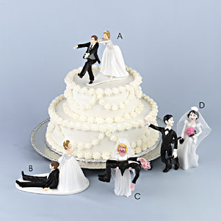 Humorous Cake Toppers For Wedding Cakes Bride Groom Uk Ball And Chain 2016