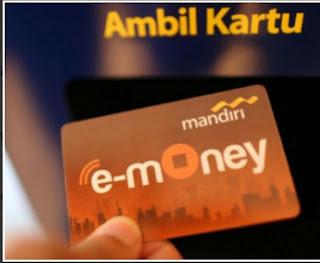mengenal emoney atau uang elektronik