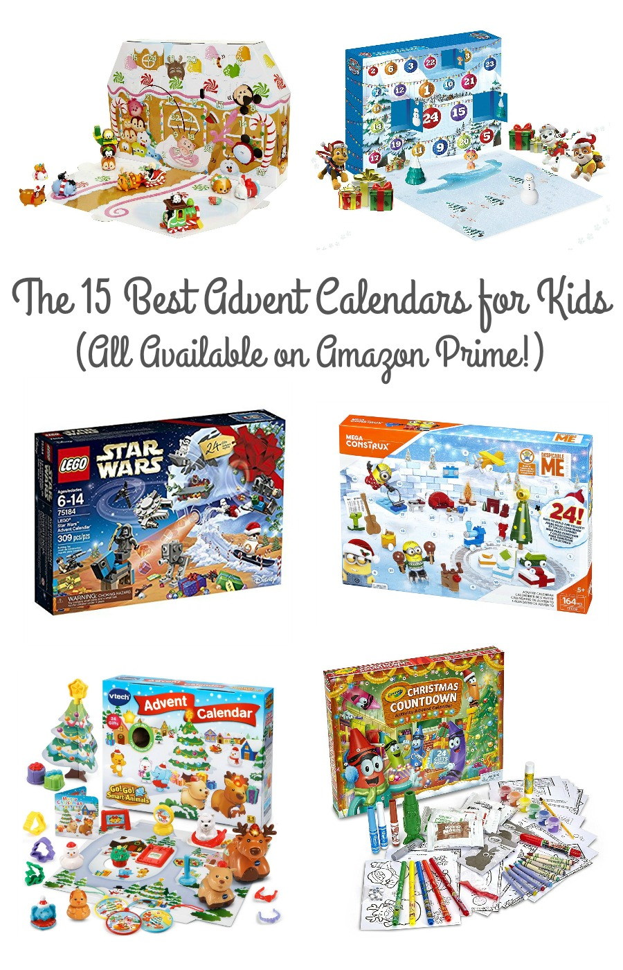 frugal foodie mama the 15 best christmas advent calendars for kids on amazon