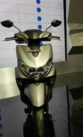 Yamaha Freego Tampak Depan