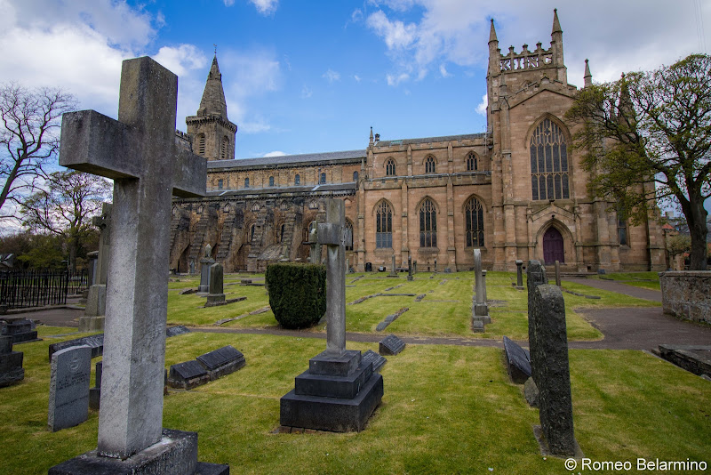 Dunfermline Abbey Cemetery Scottish Highlands Road Trip Itinerary