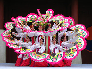 Tarian tradisional Korea