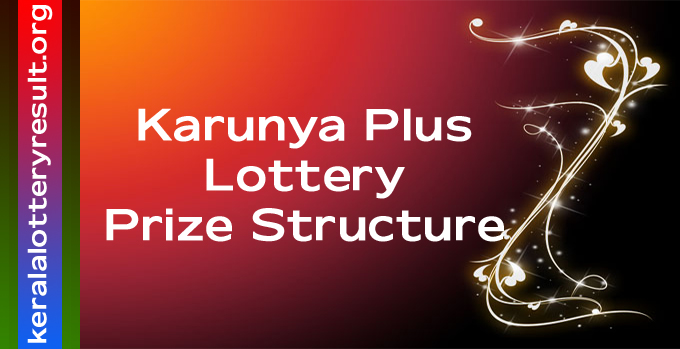 New Prize Structure of Karunya Plus Weekly Lottery 2021