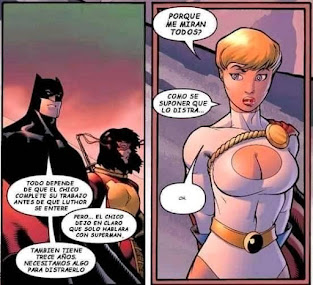 Batman y Power Girl