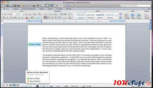 Microsoft Office 2011 For Mac OS Direct Download Link