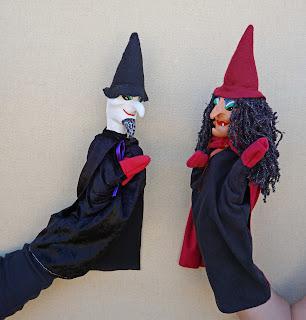 Mago y bruja