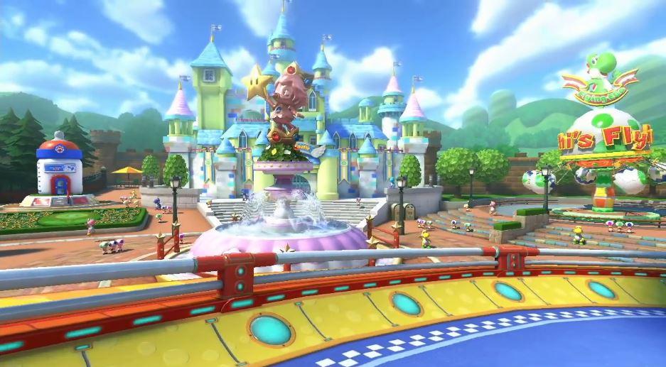Baby Mario Mario Kart 8: Speedy Freaks: Baby Park Confirmed For Mario Kart 8 (Wii U