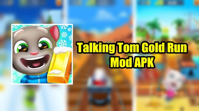 Download Talking Tom Gold Run Mod APK Full Unlocked